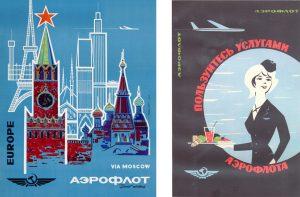 Aeroflot-posters