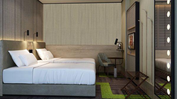 A room at Aerotel London
