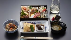 American Airlines new Japan meals