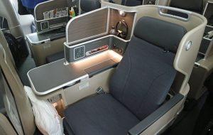 Qantas Centre-seat