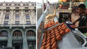 Economic History Museum, Colombo and local snacks at Galle Face Green