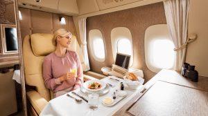 Emirates' first-class