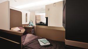 Etihad Airways Business Studio, B787-9 Dreamliner