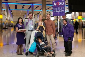 Heathrow celebrates 10th anniversary of A380 flights to the airport