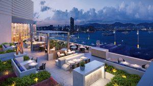Hotel Vic bar, Hong Kong