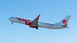 Thai Lion Air's first Boeing 737 Max 9 - Credit: PRNewsfoto/Boeing