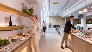 Qantas Perth International Transit Lounge
