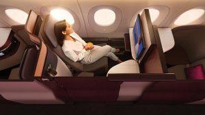 Qatar Airways' Qsuite