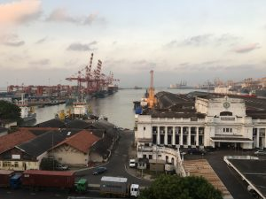 The Colombo Harbour