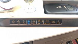 First Class suite controls