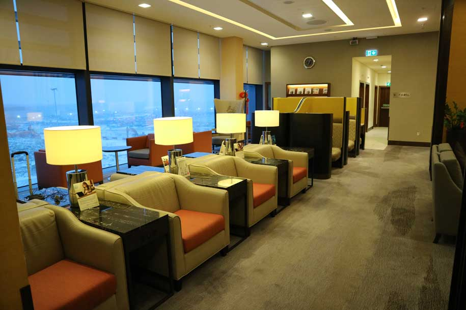 Disappointing - Review of SilverKris Lounge, Singapore ...