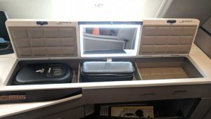 Singapore Airlines First Class A380 vanity