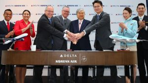Delta Air Lines and Korean to launch a new joint venture partnership