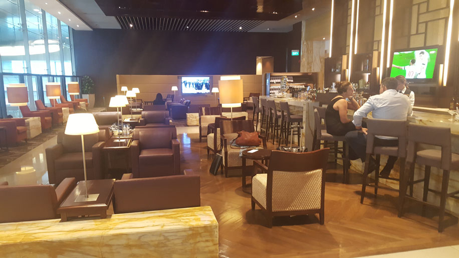 Lounge review: Singapore Airlines Silverkris Lounge, First