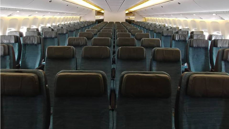 Cathay Pacific Crew Unhappy About Ten Across Economy