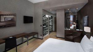 Room at the AC Hotel Montréal Centre-Ville