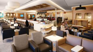 American Airlines First Class Lounge at New York JFK