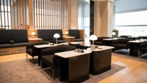 New British Airways lounge at Rome Fiumicino airport