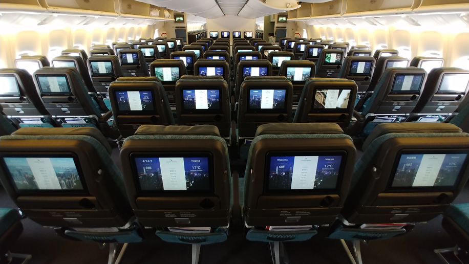 Astonishing First Look Cathay Pacifics 10 Across B777 300Er Economy Pdpeps Interior Chair Design Pdpepsorg