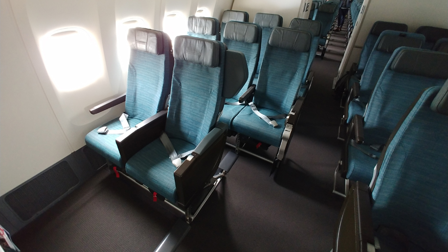First look: Cathay Pacific's 10-across B777-300ER economy