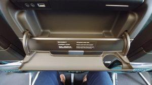 CX seat compartment