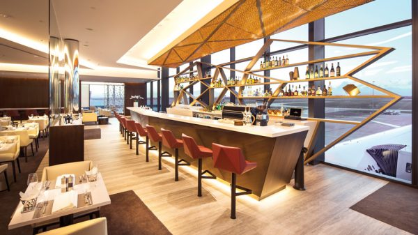 Etihad Airways First and Business Class Lounge at Melbourne Airport