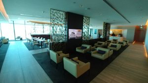 Etihad Lounge Melbourne seat