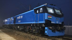 India's first all-electric locomotive
