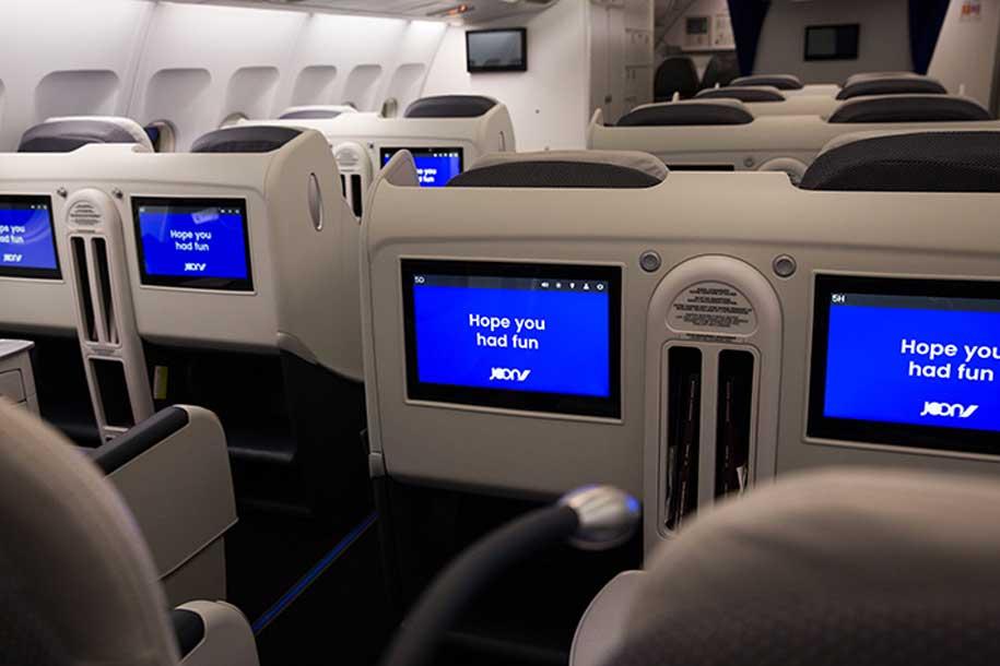 Flight Review Joon A340 300 Business Class Business