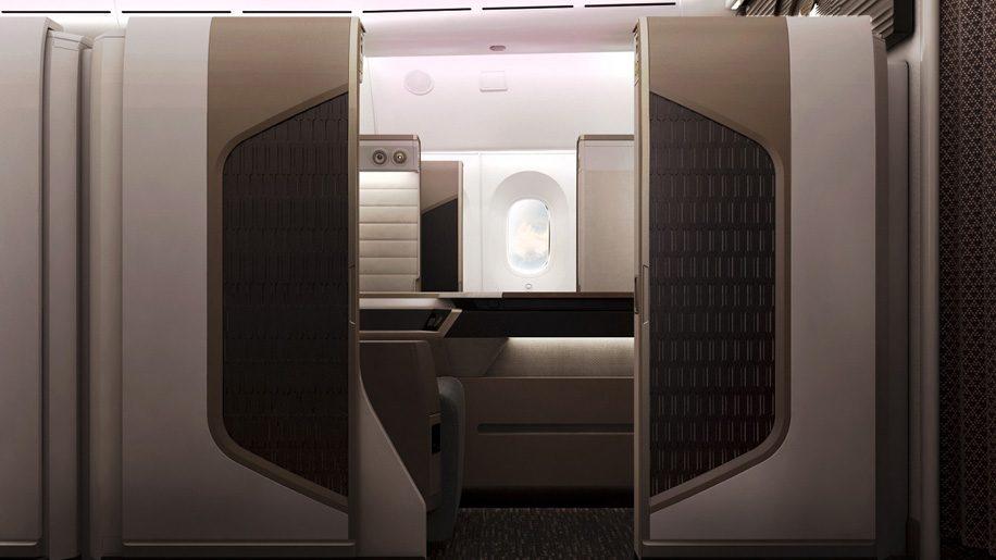 Oman Air's B787-9 first class mini suite