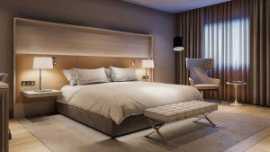 Radisson Hotels guest room