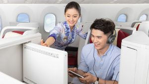 Hainan Airlines headset