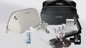 New Lufthansa first class amenity kits