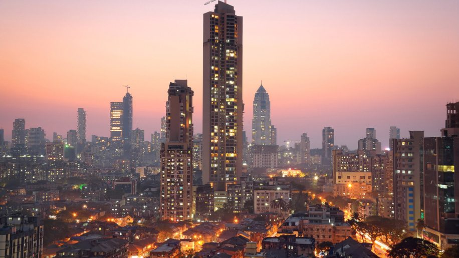 Panoramic view of south central Mumbai (iStock)
