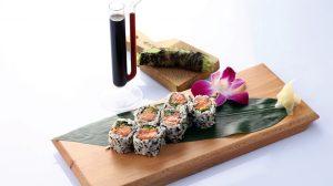 Salmon Sushi at POH