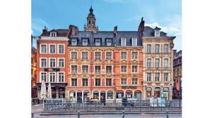 a building in Lille's Grand Place