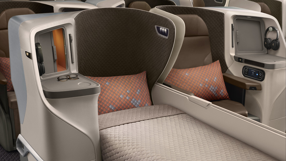 Singapore Airlines\' new regional business class seat to ...