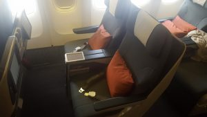Cathay Pacific B777-300 business class (regional)