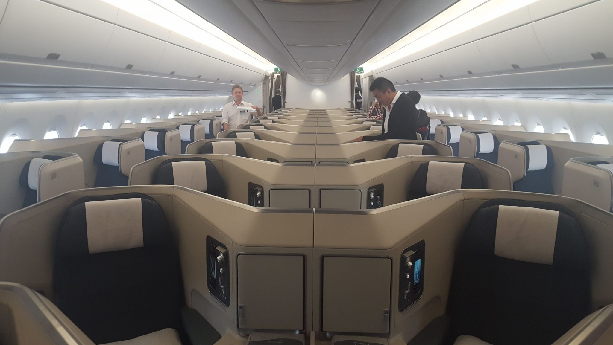 cathay pacific new business class interior classes Business class