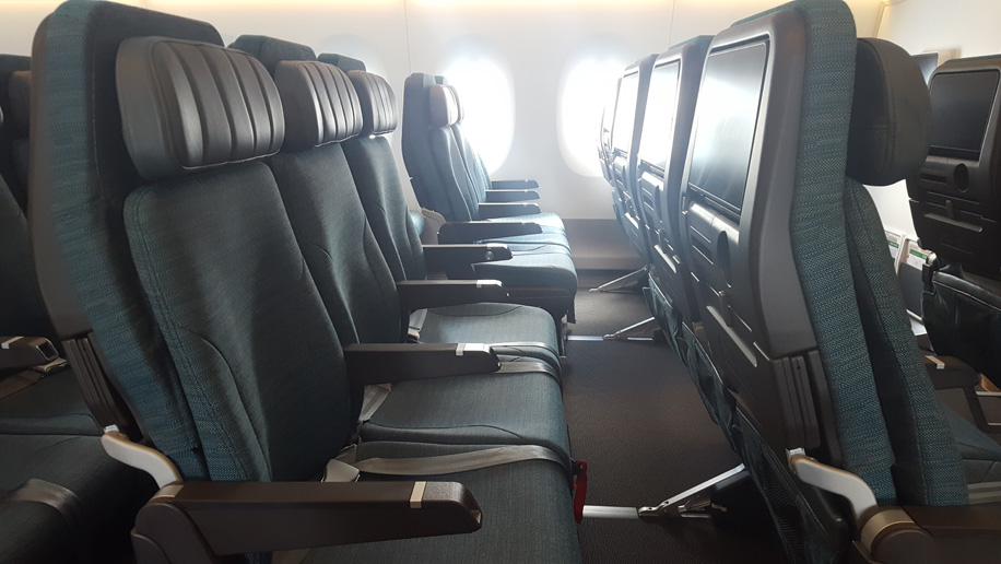 First Look Cathay Pacific Airbus A350 1000 Business