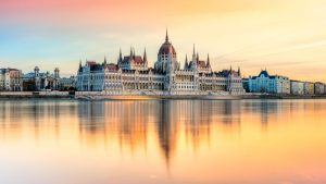 Hungarian Parliament in Budapest at sunset (iStock)