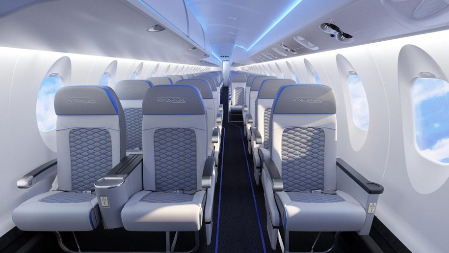Car Rental With Car Seat >> Delta to launch Bombardier Atmosphere cabins – Business ...