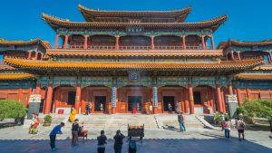 Buddhist Yonghe Lama Temple Beijing