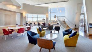 Virgin Atlantic's Clubhouse at Washington Dulles
