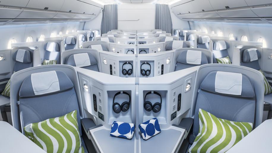 Flight Review Finnair A350 900 Business Class Business