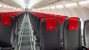 New slimline seating on Norwegian's B737 Max aircraft