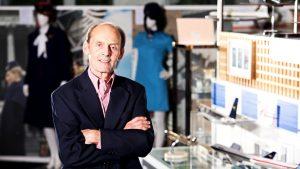 British Airways late museum curator Paul Jarvis