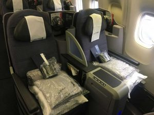The-United-B767-400 business class-seat
