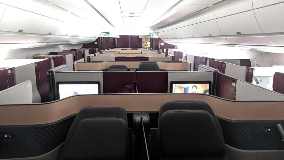 Flight Review Qatar Airways A350 1000 Q Suite Business Class