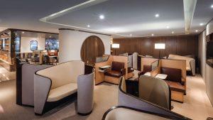 Hainan Airlines Hangzhou lounge